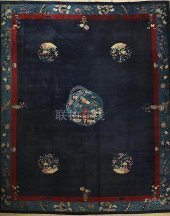 Peking antique Carpet, China, late 19th century