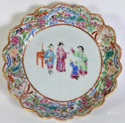 Chinese Export Shallow Bowl
