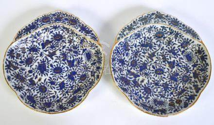 Pr. Chinese Export Shell Shaped Dishes