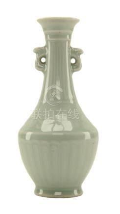 Chinese Celadon Ceramic Vase