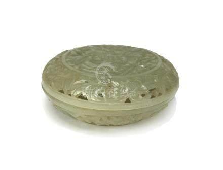 Chinese Jade Box