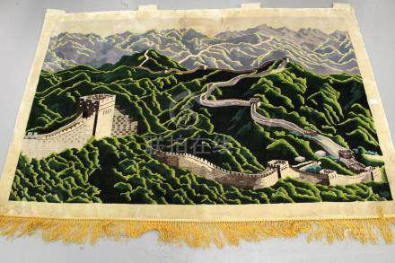 The Great Wall of China, decorative tapestry wall
