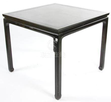 Chinese Black Lacquered Table
