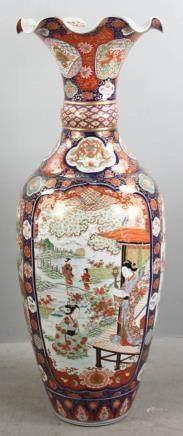 Circa 1880 Japanese Floor Vase