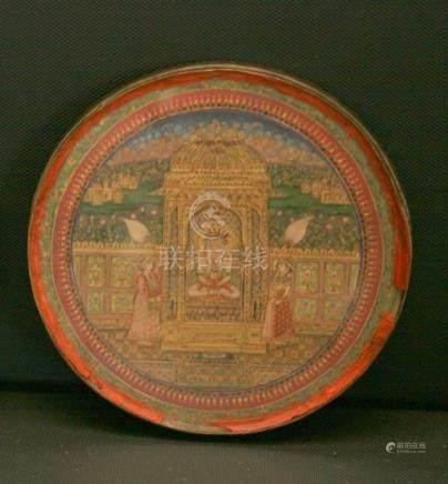 Jain Votive Plaque, India, 18th Century
