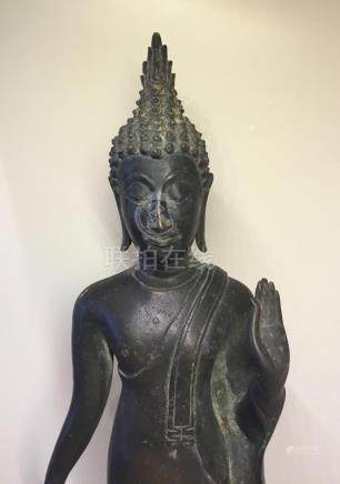 Buddha, Bronze, Thailand, 19th Century or Earlier