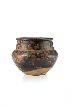 宋 深色釉陶瓷碗
