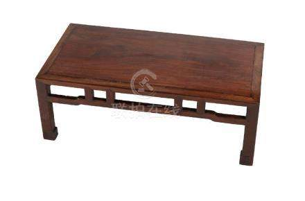 A Chinese hardwood table