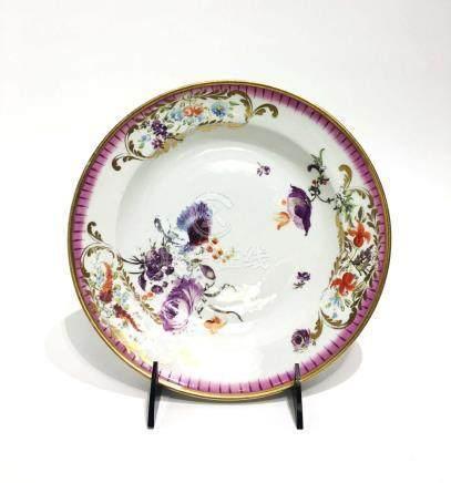 A Meissen Porcelain Plate