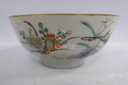 A late 19th/early 20thC Chinese porcelain footed bowl,