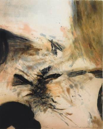 ZAO WOU-KI, Untitled