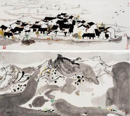 WU GUAN-ZHONG,Shaoxing Scenery