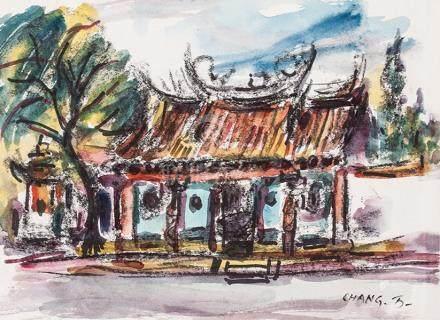 CHANG WAN-CHUAN , Temple