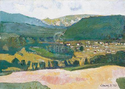 CHANG YI-HSIUNG, Landscape of Spain