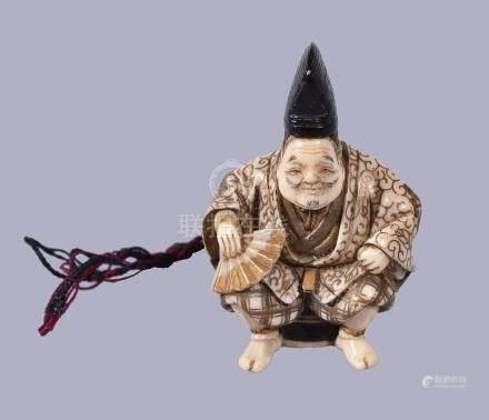 ϒ Shugyoku: A Japanese Ivory Netsuke