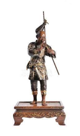 Eisuke Miyao: A Bronze Figure of an Itinerant Farmer