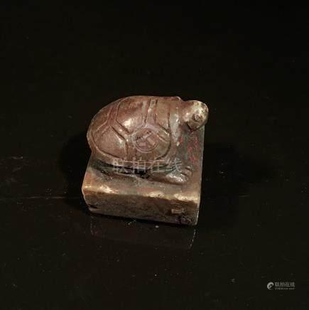 Chinese Jade Turtle Seal