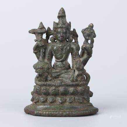 HINDU PALA STYLE BRONZE BUDDHA