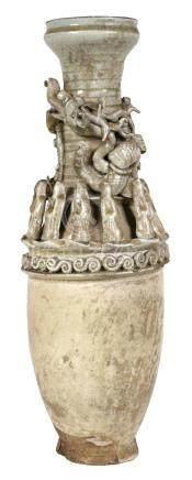 Chinese Song Dynasty Era Burial Jar Urn