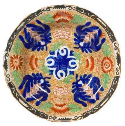 Antique 18C Chinese Imari Soup Plate