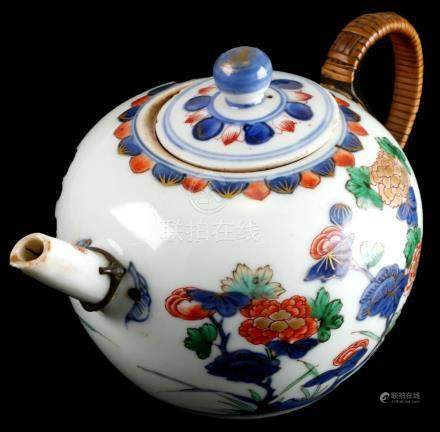 Blue & White Japanese Arita Teapot