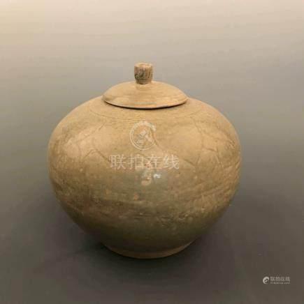 Fine Chinese Celadon Jar