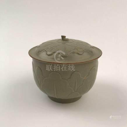 Chinese Celadon Porcelain Teapot
