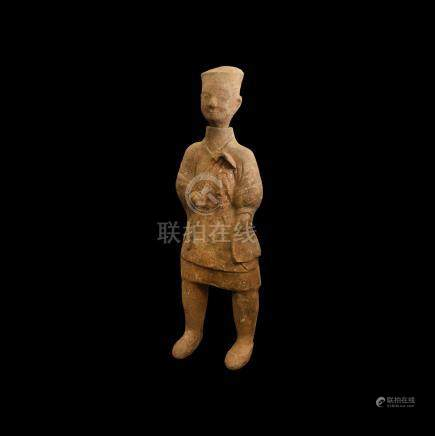 Large Chinese Large Han Soldier Figurine