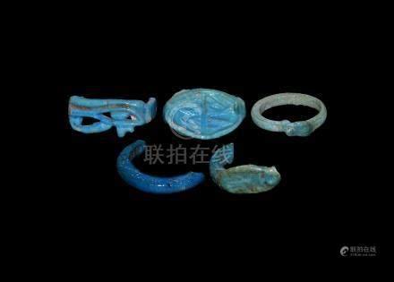 Egyptian Ring Fragment Group