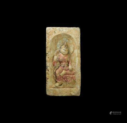 Chinese Brick with Figure