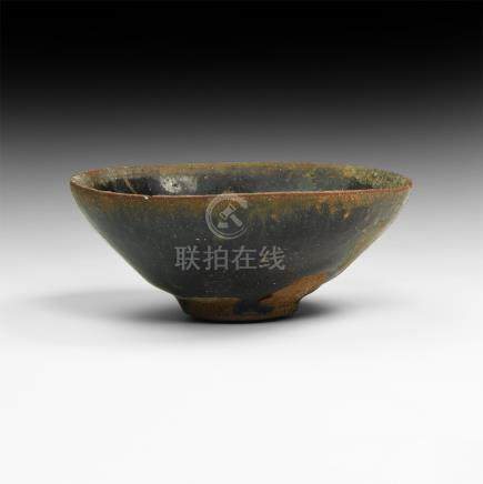 Chinese Song Hare's Fur Tea Bowl