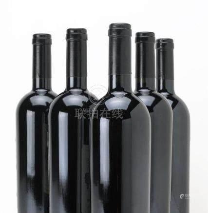 Penfolds St. Henri Shiraz 1991, South Australia (1) Penfolds Bin 389 Cabernet Shiraz 1993, South Australia (2) Penfolds Yattarna Chardonnay 1996, South Australia (1) Penfolds RWT Shiraz 1998, South Australia (2)