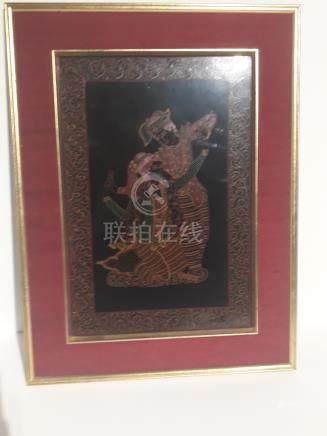 lot 134 1 Thai etching