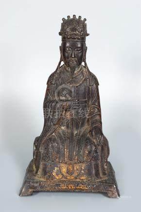 17TH.-19TH. CENTURY Chinese Bronze FIGURE