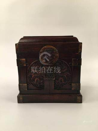 Chinese Redwood Jewerly Box
