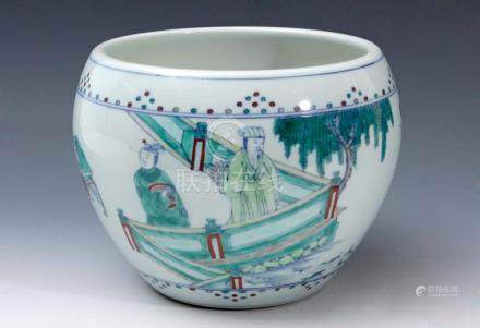 An early 20th century Chinese Republic porcelain vase