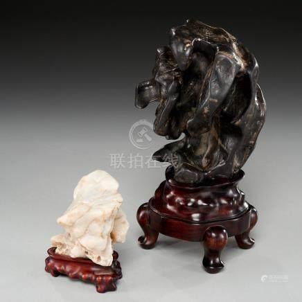 (2) Chinese scholar's rocks (Gongshi)