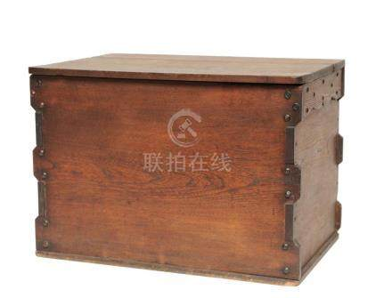 Japanese Wooden Storage Chest