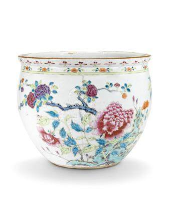 A CHINESE FAMILLE ROSE JARDINIÈRE 19TH CENTURY