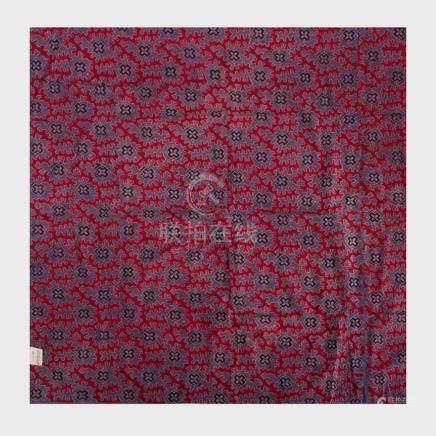 Group of Six Indian Batik Cloth Panels