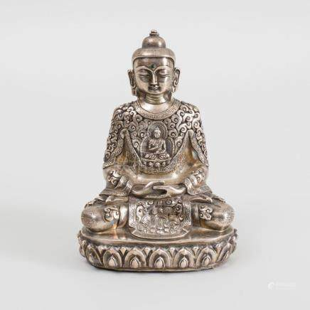 Tibetan Silver Buddha