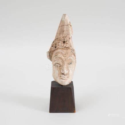 Thai Terracotta Head of Buddah