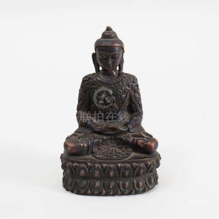 Southeast Asian Composition Figure of Buddha