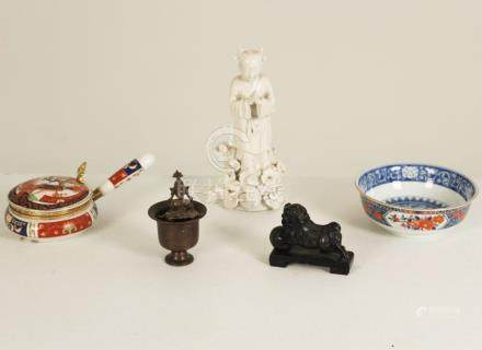 5 PIECE MISC. LOT OF ORIENTAL RELATED ITEMS