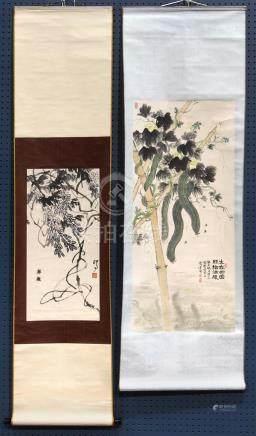 Chinese Scrolls, He Hanlian, Jiang Ting