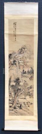 Chinese Scroll, Manner of Poshan Shanshi