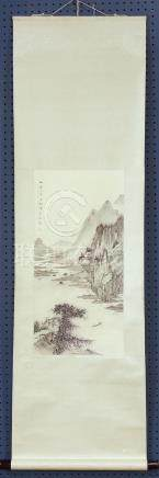 Chinese Scroll, Manner of Chen Yunzhang/Shaomei