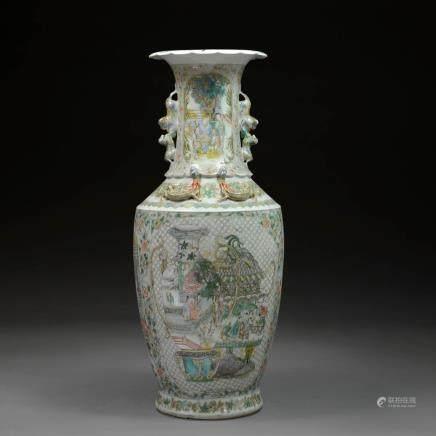 A Cantonese Vase