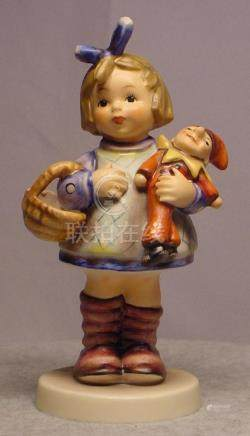 "Hummel Figurine #422 ""What Now"""