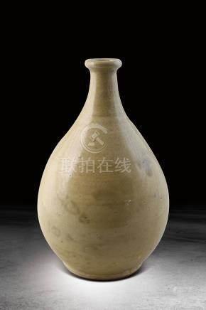 桃山黃釉瀨戶酒瓶